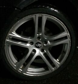 18inc R ALLOY WHEELS ... CHEAP!!! NEED GONE TODAY