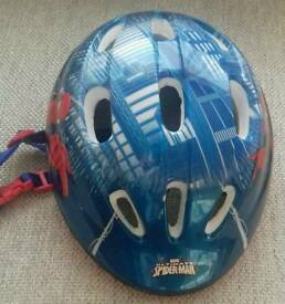 Spiderman Child Cycling Helmet in new, mint condition