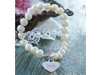 Fresh Water Pearl Personalised Name Bracelets