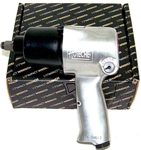 """Air Impact Wrench  1/2""""  Twin Hammer Max Torque 750 ft/lb 5 torque Settings"""