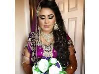 Asian and english bridal hair and makeup artist