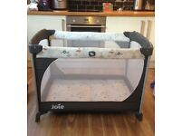 Lovely Joie baby travel cot pack and play - in excellent condition