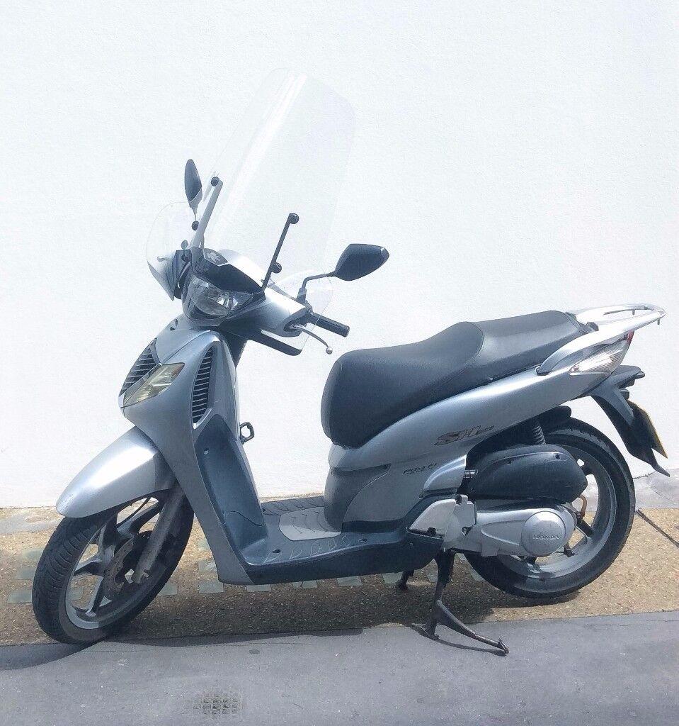 Moped Scooter Honda Sh 125 Sh125 Windscreen