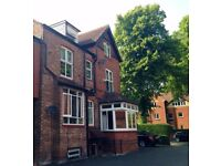 Large 1 Double Bedroom Flat to let, Didsbury Village, period property, reserved off road parking