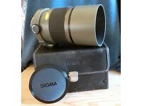 SIGMA 600mm Mirror Telephoto Lens