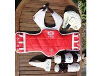 K.S.D. Taekwondo Sparring Equipment
