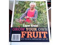 Grow Your Own Fruit, by Carol Klein
