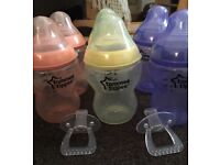 Tommee tippee coloured bottles