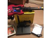Sony PlayStation 2 with Guitar Hero
