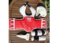 KSD Taekwondo Sparring Protective Equipment