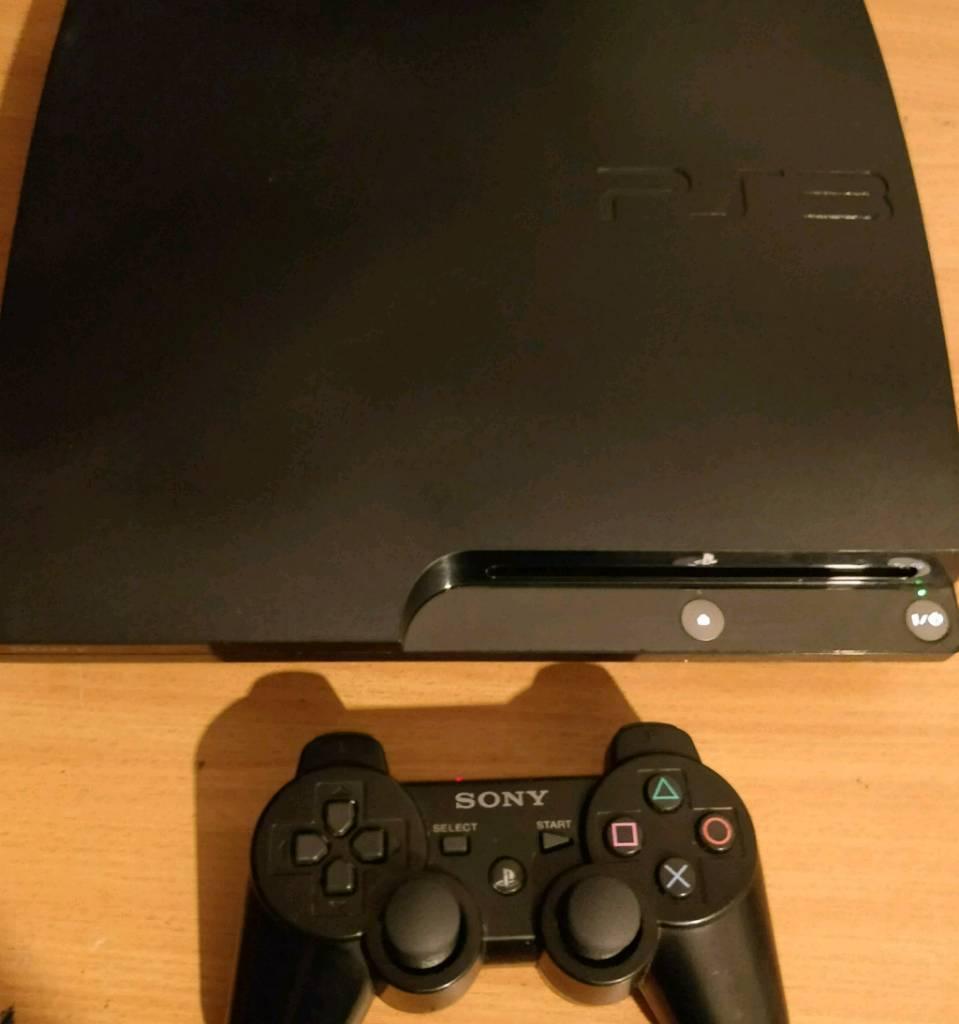 PlayStation 3 Slim + 2 Games Must go
