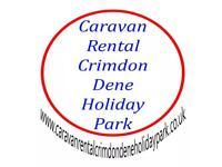 Caravan rental crimdon Dene holiday Park