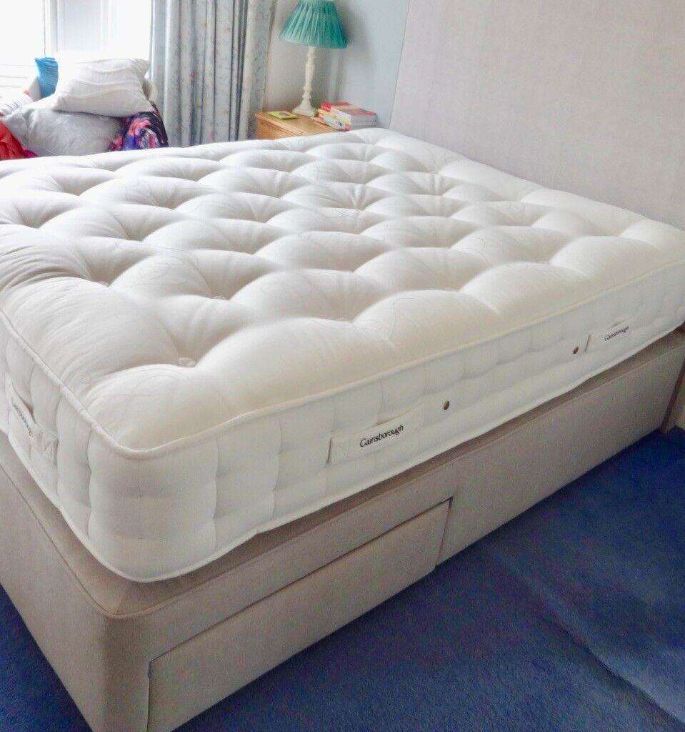 Brand New Gainsbourough King Size Divan Bed Matching Headboard Bought In Leekes Llantrisant Rhiwbina Cardiff Gumtree