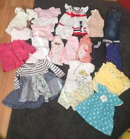 Girls 6-9 months bundle