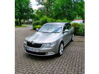 Skoda superb 2.0 tdi cr 170bhp dsg elegance, well equipped