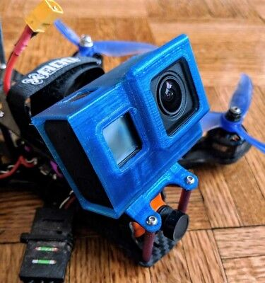 Martian II 220 & 250 Gopro Hero 5 -6 - 7 mount session Fpv Drone ALIEN Case Lens