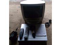 CCTV DVR and Portable TV set