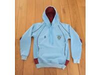 STRATHEARN SCHOOL HOODIE SMALL PE KIT 34'' chest