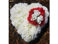 BEAUTIFUL HAND MADE GRAVE WREATH £18.00