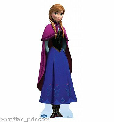 Disney Frozen Anna Lifesize Cardboard Standup Cutout Party Decor Licensed NEW