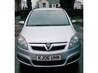 Vauxhall zafira 7seater hpi clear full mot 2keys 06reg
