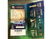 Final Ticket India Vs Pakistan