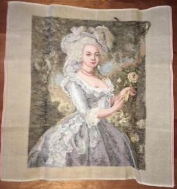Large Tapestry Kit made in Italy of Marie Antoinette