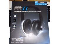Turtle Beach Ear Force PX11 Surround Sound Gaming Headset for PS4, Xbox One, PS3, Xbox 360, PC.