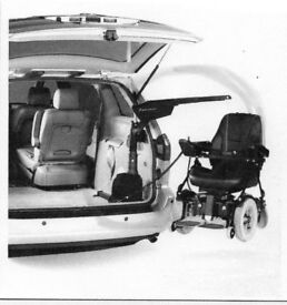 Remote Control HOIST for Wheelchair or Small Mobility Scooter