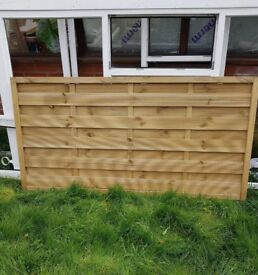 3ft x 6ft Fence Panel x1