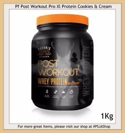 Pf Post Workout Pro Xl Protein Cookies & Cream