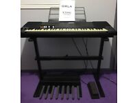 Orla KX900 with Stand, Pedals & More: Portable Organ / Keyboard