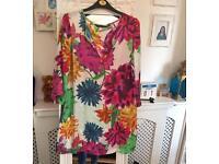 Stunning Zara summer tunic new size M/L