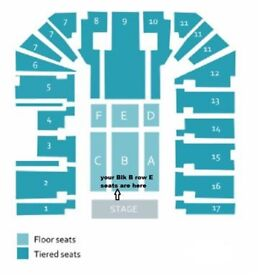Jeff Lynne's ELO Tickets x2 Birmingham Arena BEST SEATS Blk B row E Friday 12th October £275