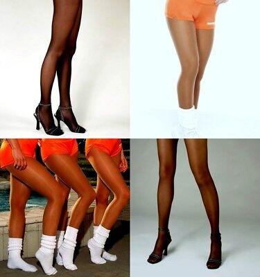 Pantyhose & Slouch Socks Peavey Drag Queen Cross Dresser Hooters Uniform Sexy