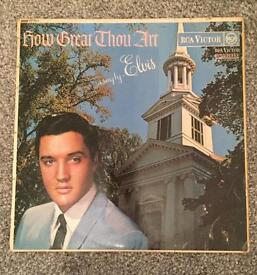 Elvis how great thou art