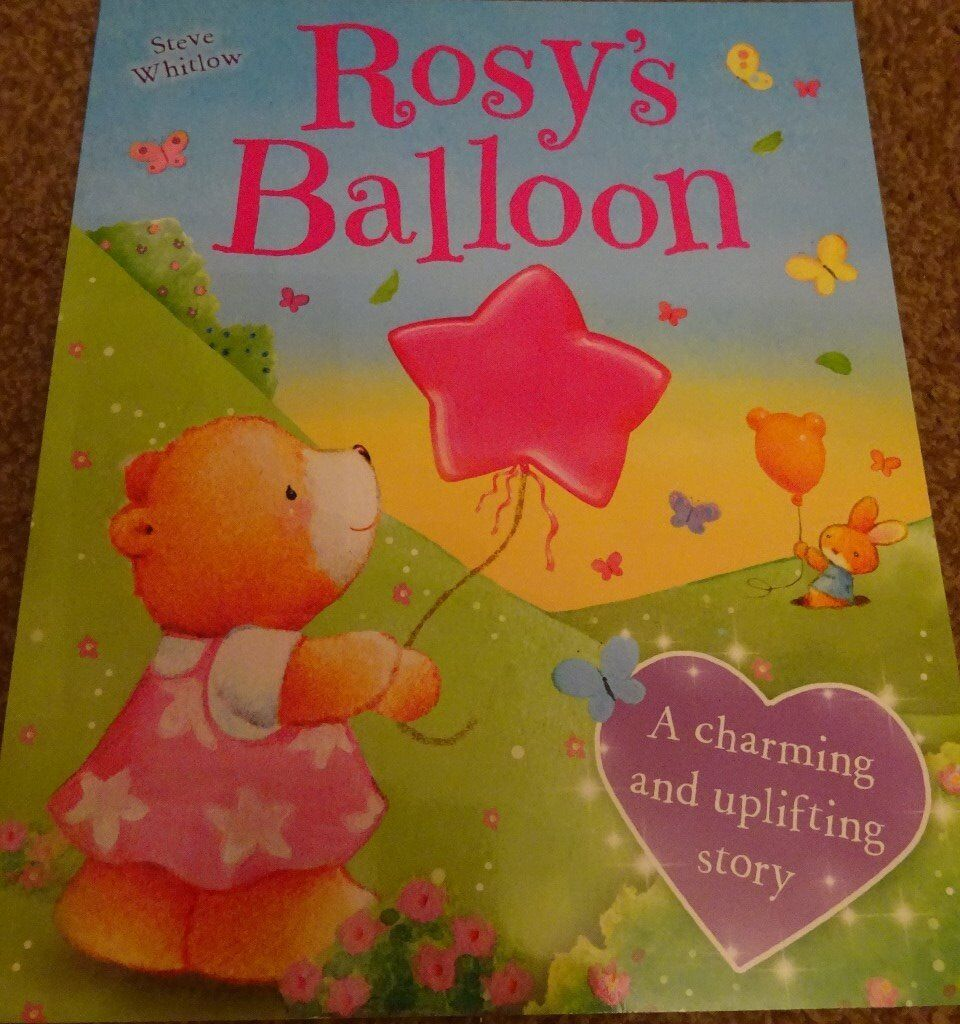 New Rosy's Balloon children kids story book bedtime only £1 ideal xmas gift