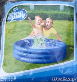 3 x New paddling pools play pits inflatable outdoor toys
