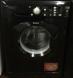 Hotpoint WMF740 7kg 1400 Spin Black LCD A Rated Washing Machine 1 YEAR GUARANTEE FREE FITTING