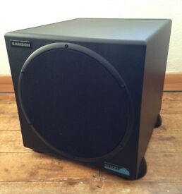 Samson Resolv 120a Active Subwoofer Speaker, boxed