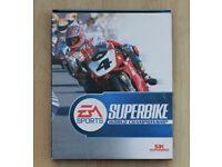 EA Sports Superbike computer game - Windows '98