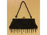 Ladies glamorous black handbags
