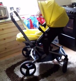 Mothercare 2in1 newborn to toddler pushchair