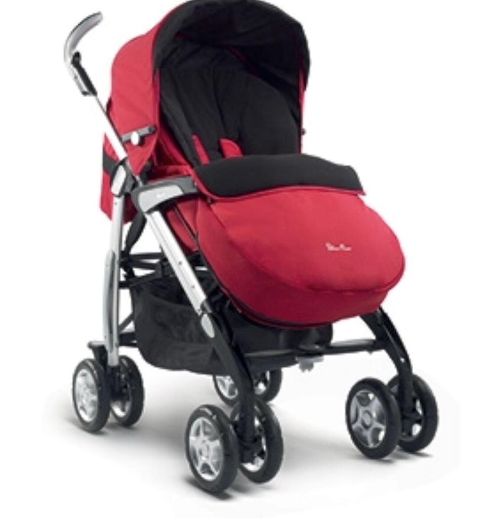 Silvercross 3D 3in1 prampushchaircar seat in good conditionin Basingstoke, Hampshire - Silvercross 3D 3in1 pram / pushchair / car seat in good condition. Price is negotiable. It's from a pet free/smoke free home. Collection only from Basingstoke