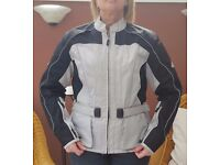 Women's Hein Gericke Motorbike Jacket. Virtually unused. Size Medium.