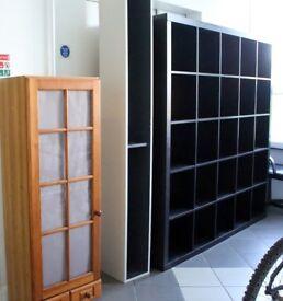 Ikea bookcase / pine cupboard / box shelf - £25 only
