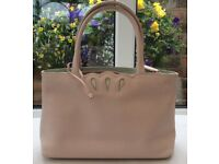 TULA Small Ladies leather handbag in pale pink