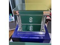 Last one - New in Box Mirrored Jewellery Box Vanity home decoration