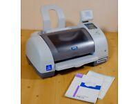 Epson Stylus 895 inkjet printer - old school office equipment