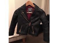 River Island Girls Real Leather Jacket - IMMACULATE!